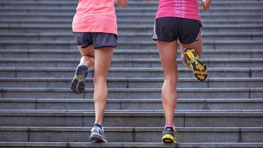 Queime Gordura Com Um Treino Na Escada Que Pode Ser Feito Em