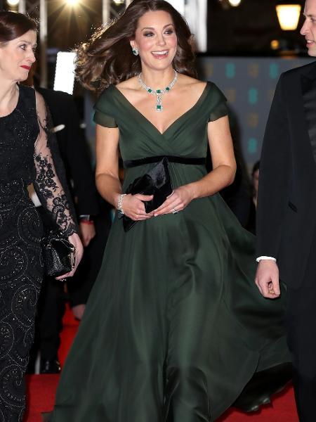 Kate Middleton, no BAFTA 2018 - Getty Images