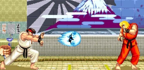 """Ryu e Ken em """"Street Fighter 2"""""""