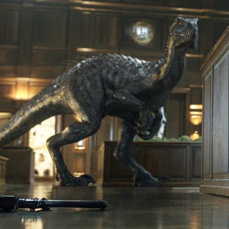 """Cena de """"Jurassic World: Reino Ameaçado"""" - Divulgação"""