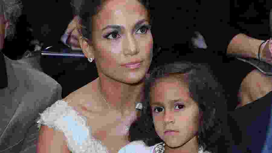 Jennifer Lopez com a filha Emme - Pascal Le Segretain/Getty Images