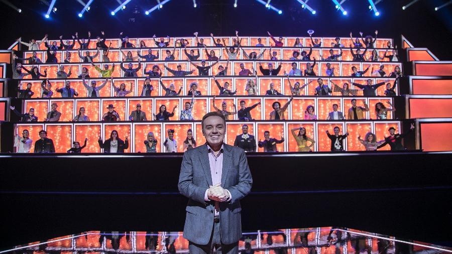 """""""Canta Comigo"""", com Gugu, em versão especial, vai reunir os principais nomes da Record - Edu Moraes/Record"""