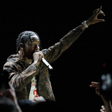 Travis Scott em show realizado em Los Angeles - Josh Lefkowitz/Getty Images