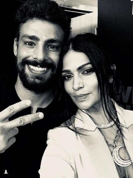 Cauã Reymond e Camila Alves em Nova York - Reprodução/Instagram
