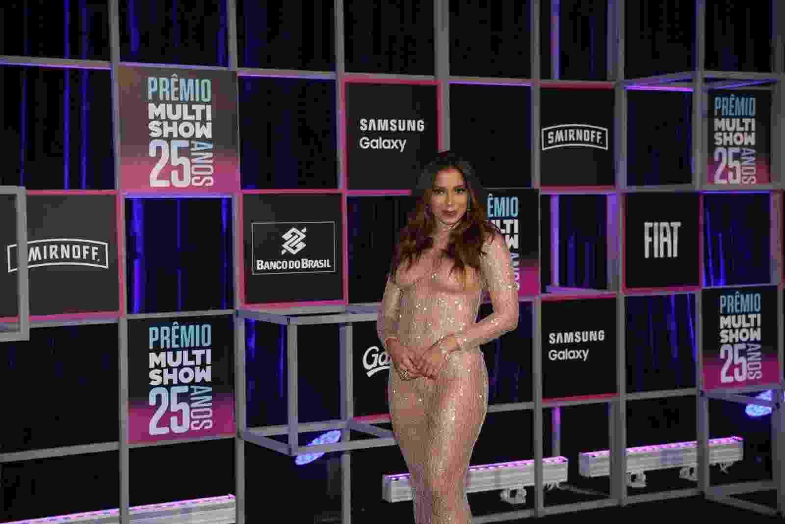 Anitta no Prêmio Multishow - Thiago Martins/MultiShow Divulgação