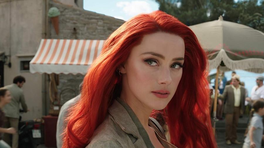 """Amber Heard como Mera em """"Aquaman"""" - Divulgação"""