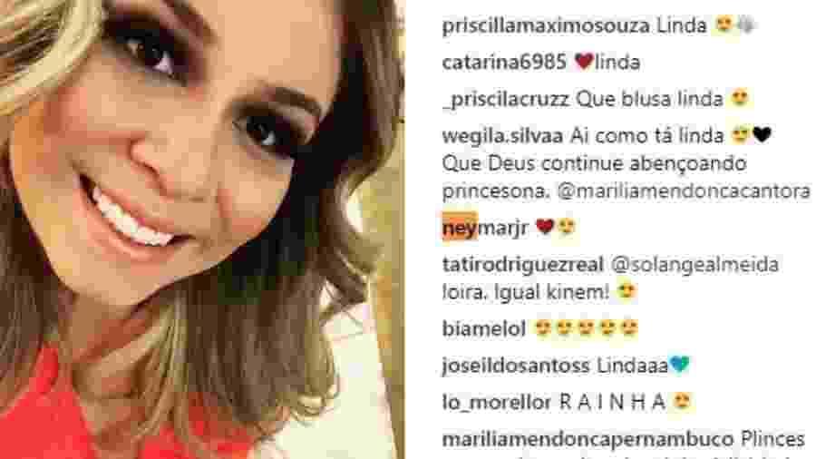 Instagram Marilia Mendonça