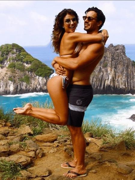 Paula Fernandes e o namorado  - Reprodução/Instagram