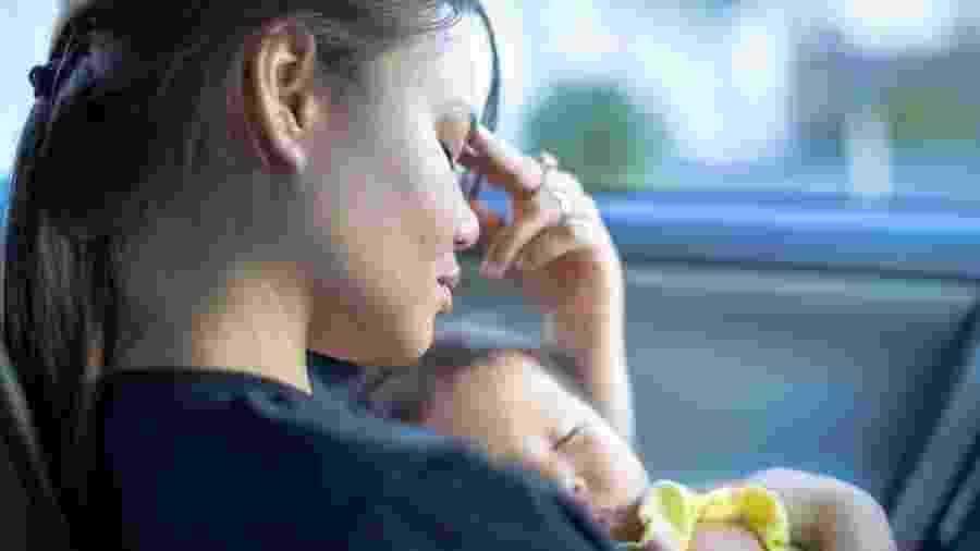 Bianca Neves* foi uma mãe funcional nos primeiros meses de vida de sua filha, mas logo sentiu os sintomas da depressão pós-parto - iStock Images