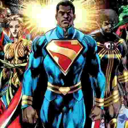 Calvin Ellis, uma das versões do Superman - Reprodução - Reprodução