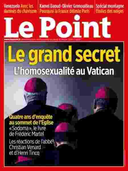 Capa da revista Le Point - Reprodução