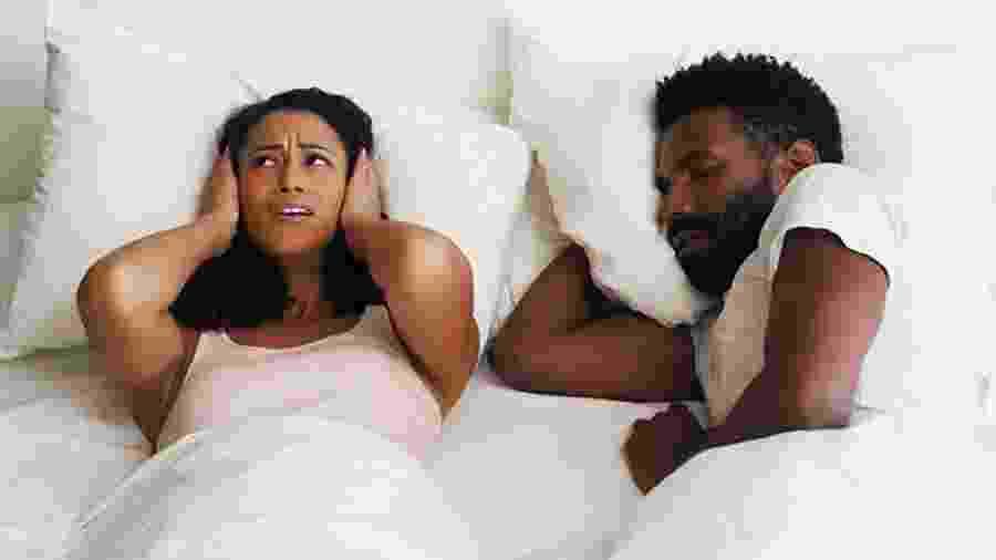 Ronco é um dos sinais de incompatibilidade no sono  - Getty Imagens