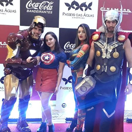 Galera capricha no cosplay na estreia de Vingadores: Ultimato - Reprodução/Instagram