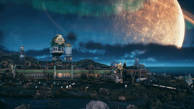 Pontágua é a primeira cidade do jogo - Reprodução