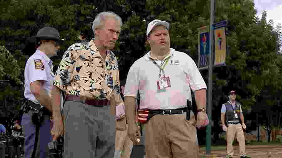 Clint Eastwood dirige Paul Walter Hauser em Richard Jewell - Divulgação/IMDb