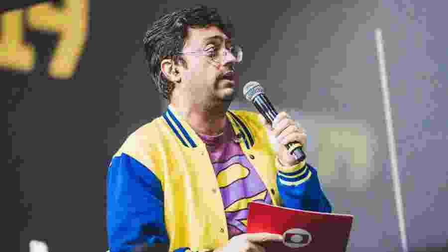 Fernando Caruso foi moderador em painel na CCXP - Divulgação