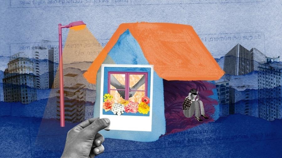 Sinônimo de aconchego e proteção, o lar também é um lugar perigoso para as mulheres: 39% dos homicídios delas acontecem dentro de casa  - AzMina/Estúdio Rebimboca