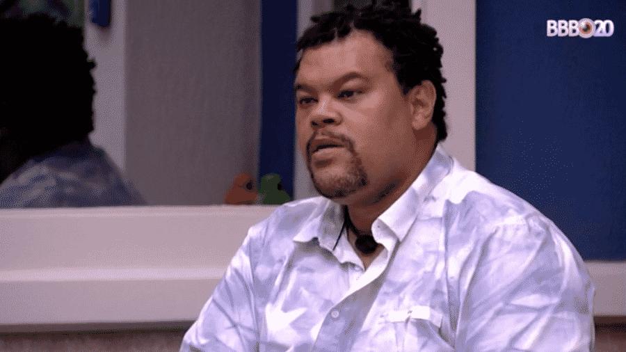 Babu conversa com Prior após saída de Lucas - Reprodução/GlobosatPlay