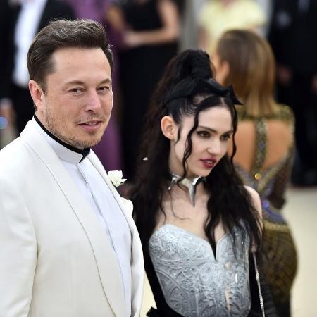 Grimes e Elon Musk estão juntos há três anos - Getty Images