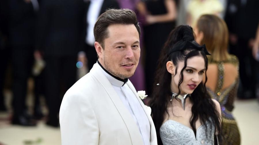 Grimes e Elon Musk - Getty Images