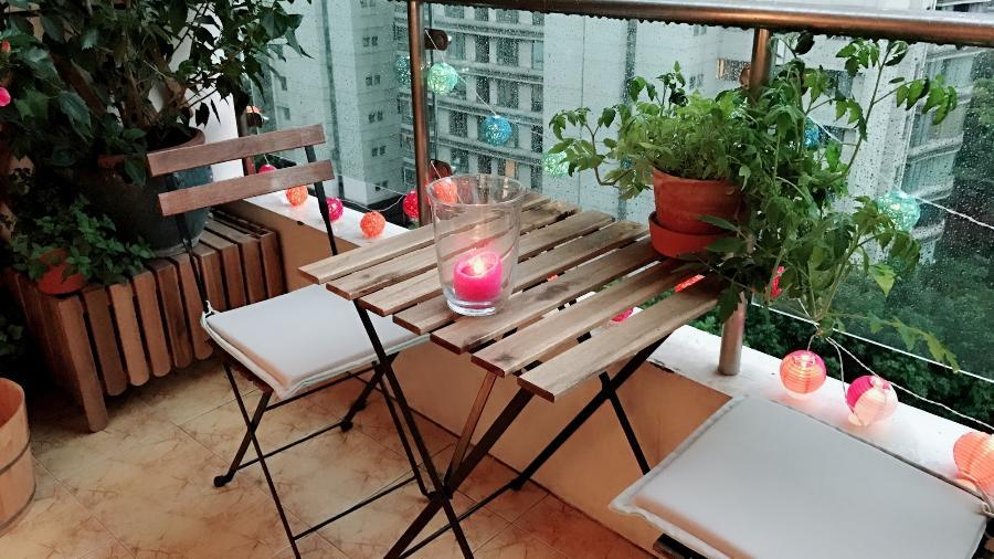 Decoração simples na varanda da sua casa ou apartamento pode transformar o ambiente - iStockphotos