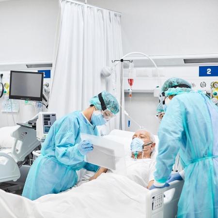Imagem meramente ilustrativa - Ministério da Saúde anunciou novos leitos de UTI covid-19 - Morsa Images/IStock