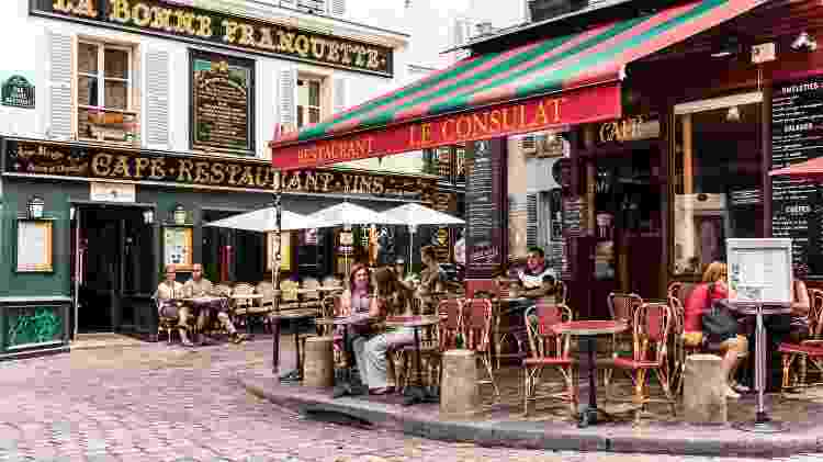 Bar em Paris, França - Getty Images - Getty Images