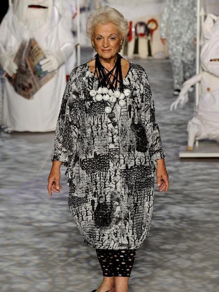 Andrea Navarro hoje tem 85 anos e é modelo e atriz há 14. - Marcelo Soubhia/Marcelo Soubhia/Ag. Fotosite
