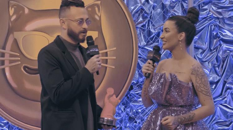 Fred e Boca Rosa no MTV Miaw 2021 - Reprodução/Facebook/MTV - Reprodução/Facebook/MTV