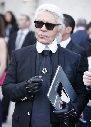 Karl Lagerfeld, estilista da Chanel - Getty Images