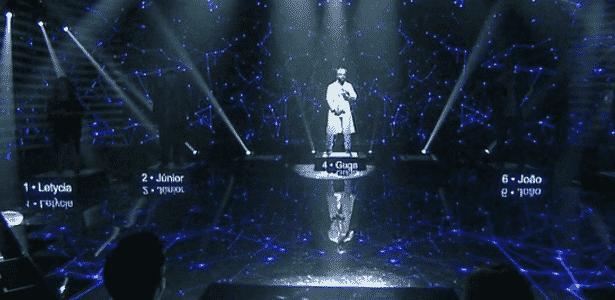 """Quadro """"Iluminados"""" do programa """"Domingão do Faustão"""" que estreou neste domingo - Reprodução"""