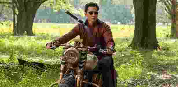 """Daniel Wu em imagem promocional da série """"Into the Badlands"""" - Reprodução/AMC"""