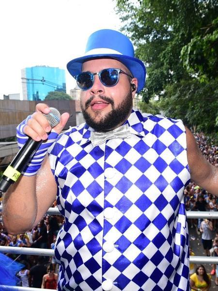 O cantor e ator Tiago Abravanel - Leo Franco/AgNews