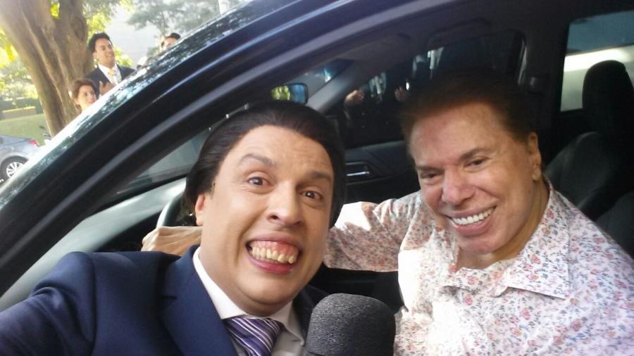 Ceará e Silvio Santos - Divulgação