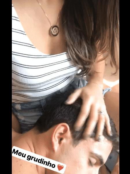 Vivian mostra momento romântico com Manoel 1 - Reprodução/Instagram - Reprodução/Instagram