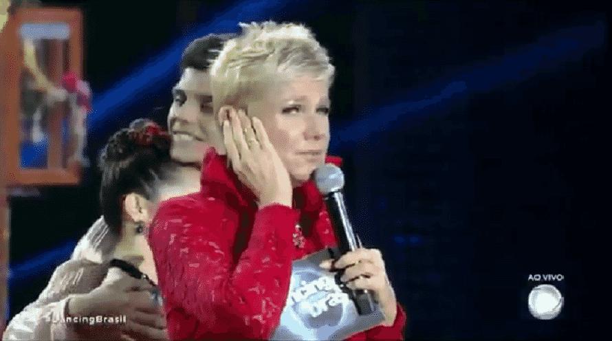 """Xuxa Meneghel sugeriu que o diretor do """"Dancing Brasil"""" será mandado embora pela Record já na edição da semana que vem - Reprodução/TV Record"""