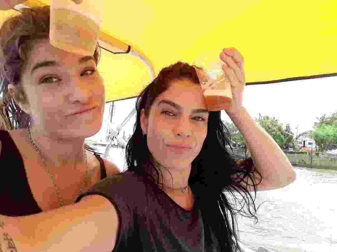 """A atriz Priscila Fantin, famosa por ter protagonizado diversas novelas, como """"Alma Gêmea"""", da TV, tem uma irmã que é a cara dela, Fabíola - Reprodução/Instagram/fafantin"""