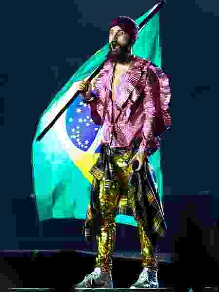 Jared Letto no Rock in Rio - AgNews