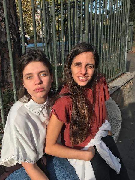 Bruna Linzmeyer e a namorada, Priscila Visman - Reprodução/Instagram