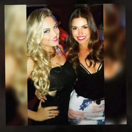 Ellen e Iza Rocche - Reprodução/Globo