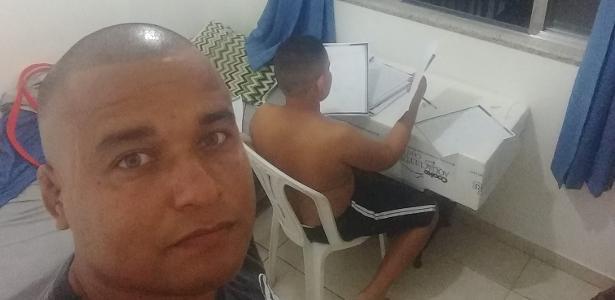 Thiago Almeida mostrou a lição dada ao filho