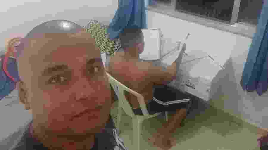 Thiago Almeida mostrou a lição dada ao filho   - Reprodução/Facebook