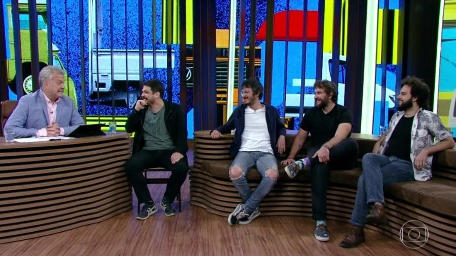 """Choque de Cultura no """"Conversa com Bial"""" - Reprodução/Globoplay"""