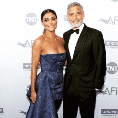 Juliana Paes e George Clooney - Reprodução/Instagram
