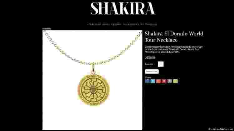 shakira - Reprodução - Reprodução