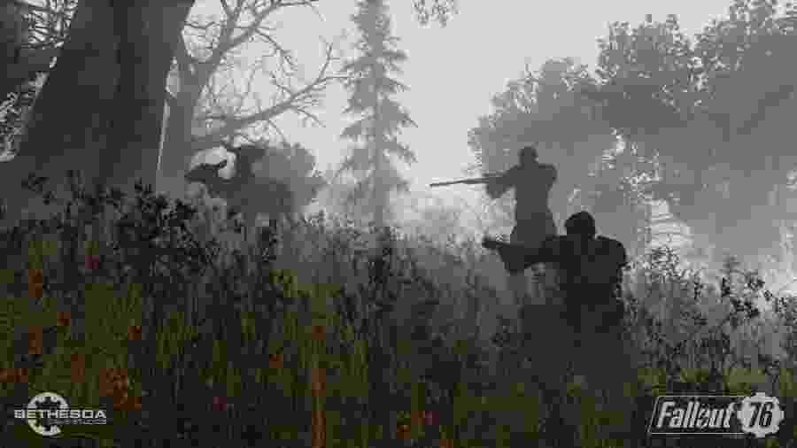 """""""Fallout 76"""" é o 1º jogo da série totalmente multiplayer; sequência de problemas mostra que a Bethesda errou a mão - Divulgação"""