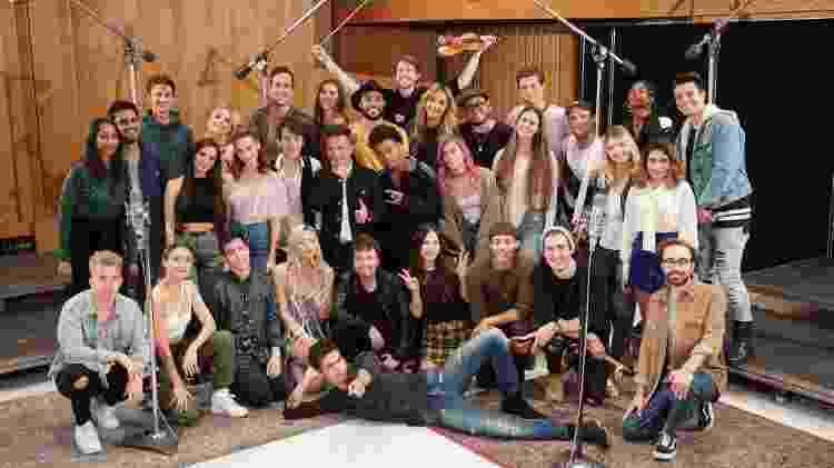"""Youtubers de todo o mundo foram convidados para regravar """"We Are The World"""" no Capitol Studios - Divulgação - Divulgação"""
