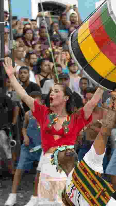 Cláudia Leitte Olodum - Osmar Gamma/Divulgação - Osmar Gamma/Divulgação