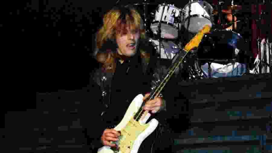 O guitarrista Bernie Tormé - Reprodução