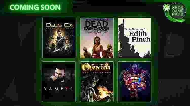 Xbox Game Pass em março e abril - Divulgação - Divulgação